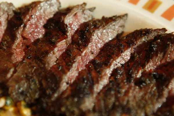 Description: Eating red meat is associated with a higher risk of early death