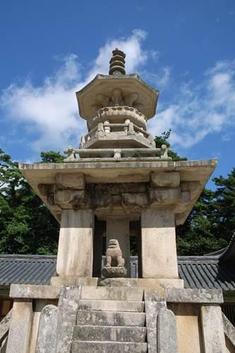 Description: Bulguksa Pagoda