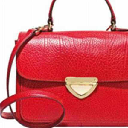 Description: Red bag $413, Bimba & Lola.