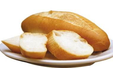 Description: Bread is able to absorb gastric juice for stomachache relief.