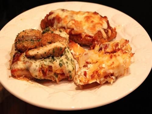Description: chicken Parmigiana pizza