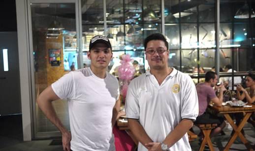 Description: Head Chef, Cuit Kaufman and Managing Partner, Albert Besa