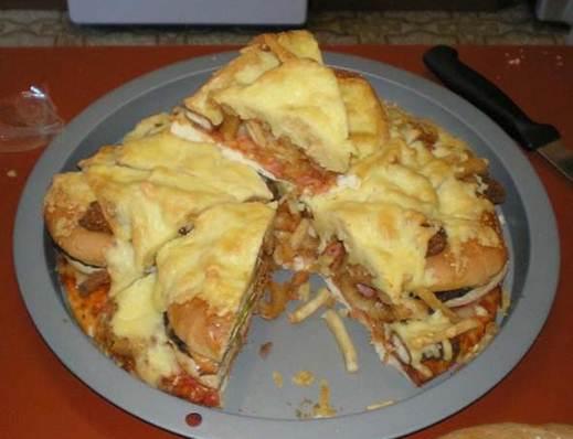 Description: Cheesebuger Pizza