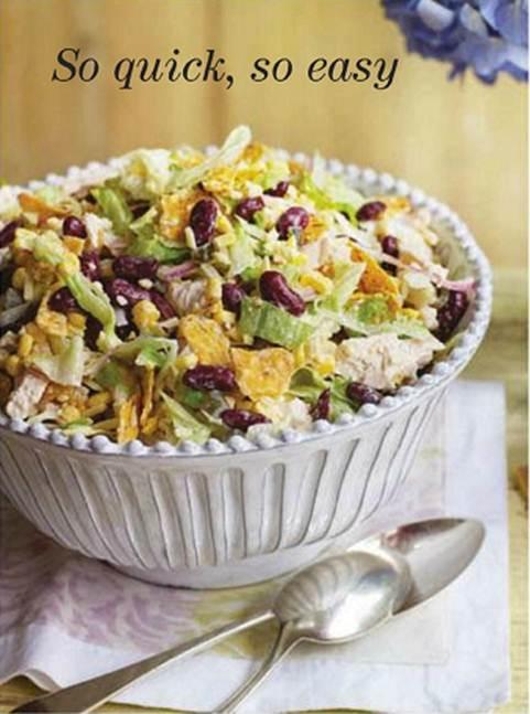 Description: Description: Mexican chicken salad