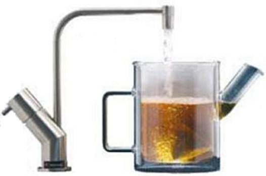 Description: Boiling water on tap