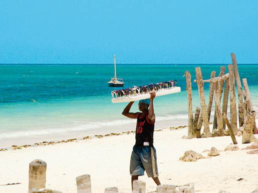 Description: in Zanzibar, the famous group of islands off the Tanzanian coast.