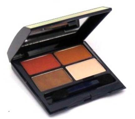 Description: Powder Eyeshadow Quad in 710 Heat, $37.5