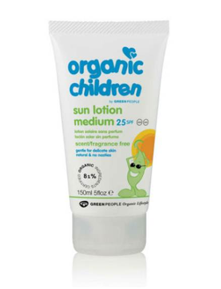 Description: Green People Sun Lotion SPF25