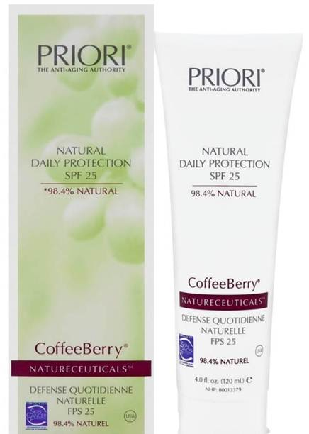 Description: Priori Natural Daily Protection SPF25
