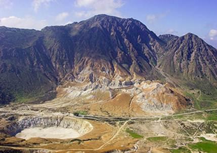 Description: Nisyros volcano