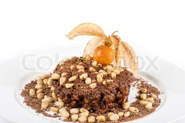 Description: Description: Chocolate dessert risotto