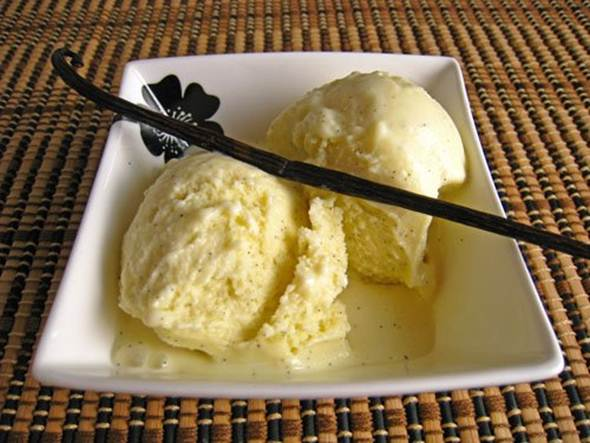 Description: Vanilla bean ice cream