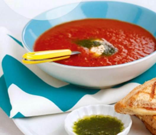 Description: Description: Roasted Tomato and Ginger soup