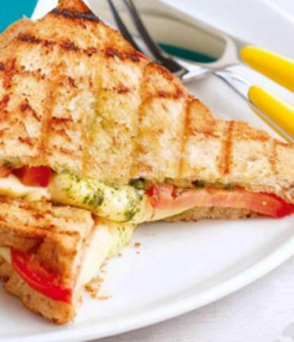 Description: Description: Grilled Kesong Puti Sandwich