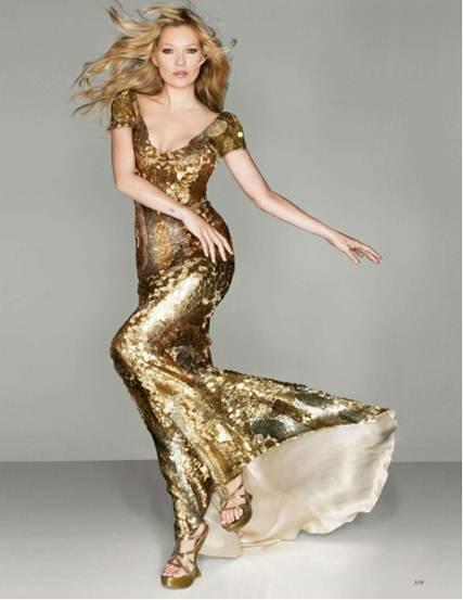 Description: Kate Moss wears