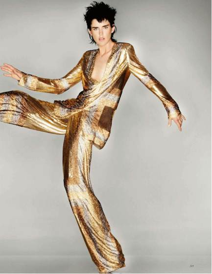 Description: Stella Tennant wears