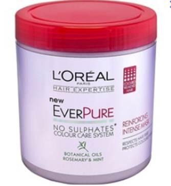 Description: Hair Expertise EverPure Reinforcing Intense Mask, 10.5, by L'Oreal Paris