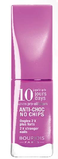 Description: 10 Days Nail Enamel in 26, $8.99, by Bourjois