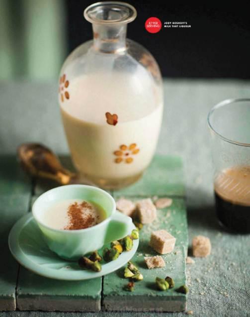 Description: Description: Jody Boshoff's milk tart liqueur