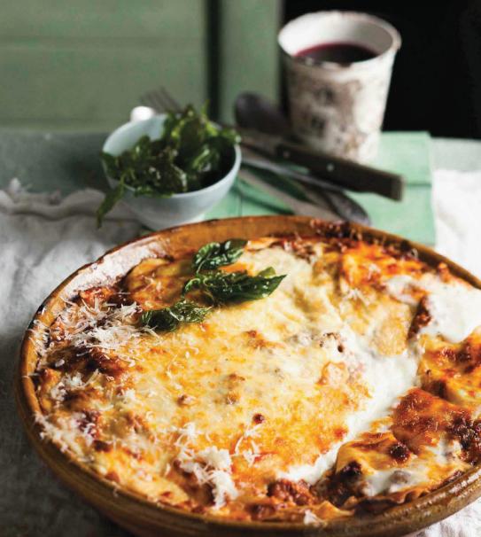Description: Description: Murielle Vegezzi's ostrich lasagna