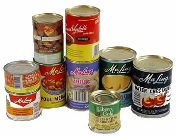 Description: Poisonous compounds may exist in canned food