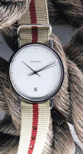 Description: 'Koppel' steel watch, $1042.5