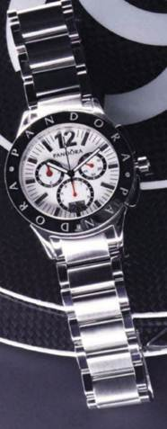 Description: Imagine Grand' stainless steel watch, $810