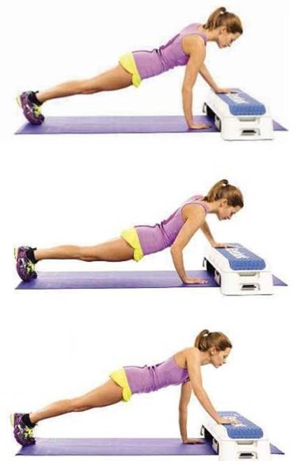 Travelling press-up