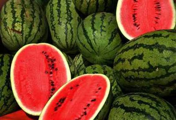 Watermelon is wonderful in taking care of skin and losing weight.
