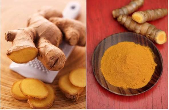 Saffron has the anti-inflammatory feature.
