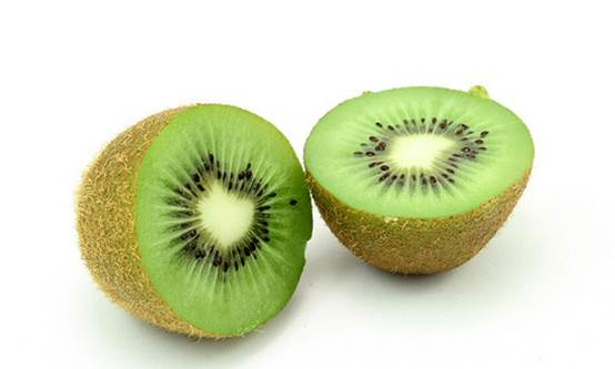 Kiwi contains a big source of vitamins