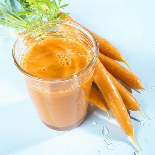 Carrot is very good for eyesight and limits the development of cancer cells.