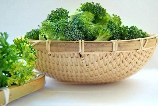 Cauliflower and broccoli… are considered very good for patients that have cancer.
