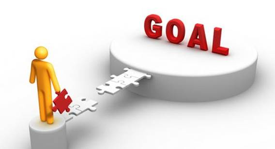 But instead of telling yourself that it's out of reach, break your goal down into a few more achievable steps.