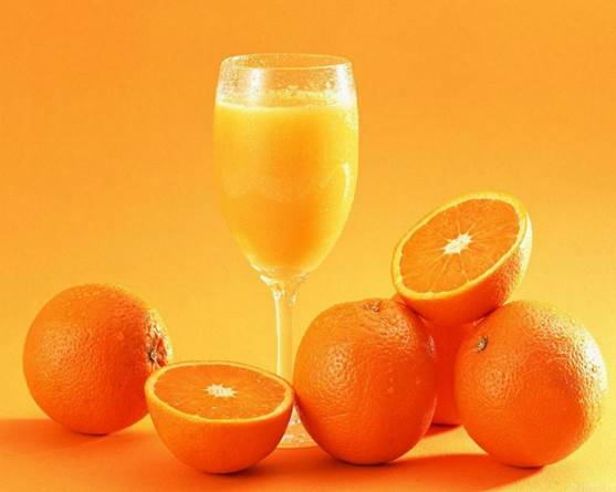 Orange juice is of acidity, which means orange can cause digestive disturbance and excite sensitive nerves.