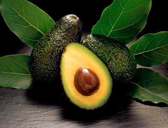 The avocado has a variety of unsaturated fat.