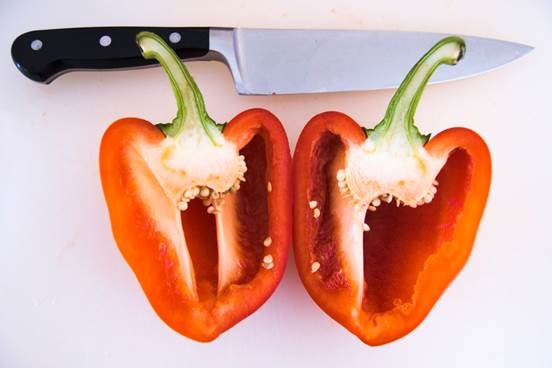 Bell pepper can be a good vitamin A supplement.