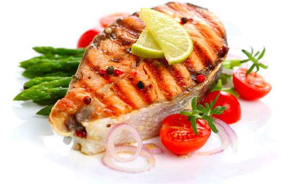 Eating lots of fish can increase the risk of gout or worsen the gout.