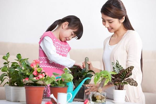 Emphasize the fact that there's nothing too difficult and out of your and your daughter's reach.
