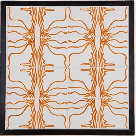 Description: De Ferranti introduces handpainted ceramic panels