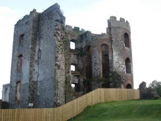 Description: Shane's Castle was destroyed by fire in 1816.