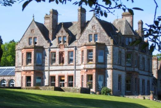 Description: Castle Leslie in County Monaghan