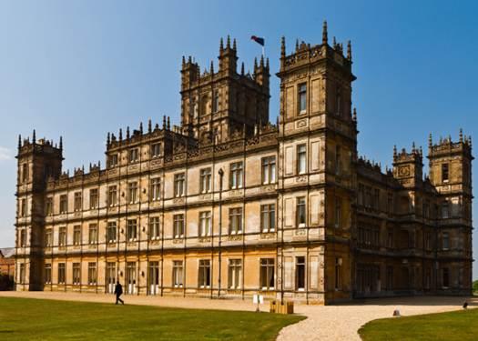 Description: Downton Abbey's Highclere Castle