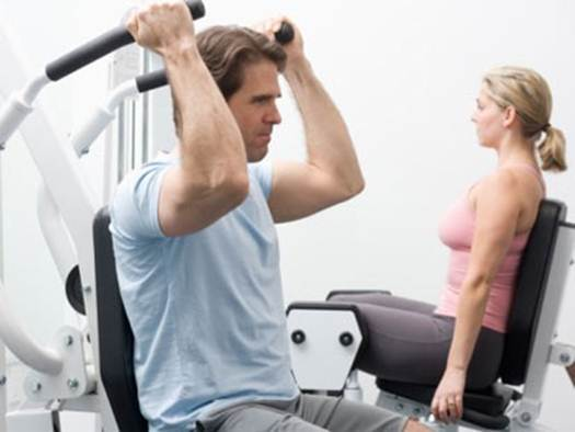 Description: One thing I do to extremes, by most people's standards, is exercise