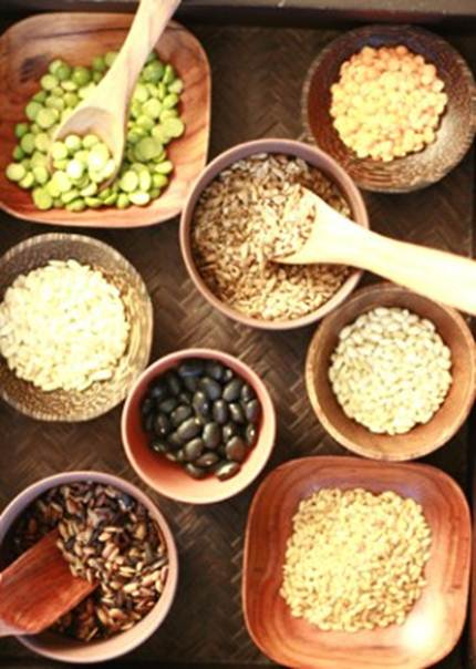 Description: whole grains equal