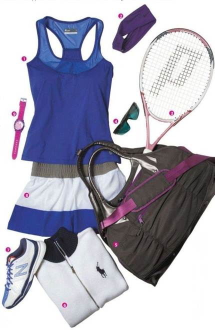 Description: Ace your performance—and appearance—with these cool tennis-ready finds.