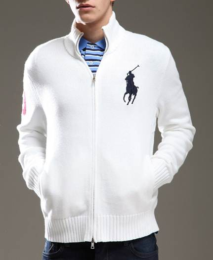 Description: Slip on the Ralph Lauren Zip Thru Jacket
