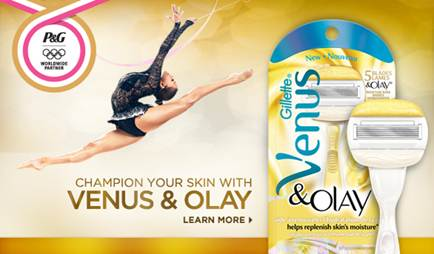 Description: Gillette Venus & Olay Razor