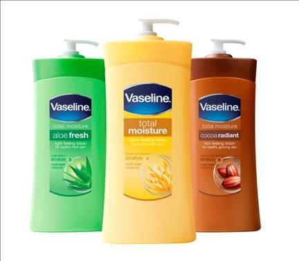 Description: Vaseline Total Moisture Lotion