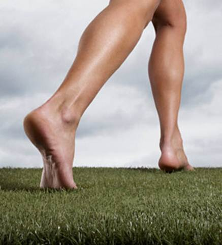 Description: What is barefoot or minimalist running?